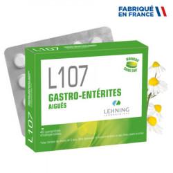 LEHNING L107 Gastro Entérites - 40 Comprimés Orodispersibles