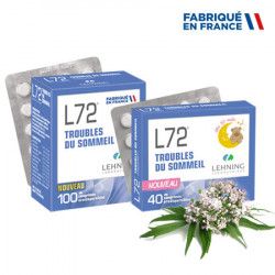 LEHNING L72 Troubles du Sommeil - 40 Comprimés orodispersibles