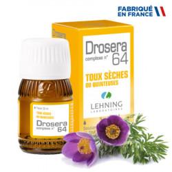 LEHNING DROSERA COMPLEXE N°64 Toux Sèches - 30ml