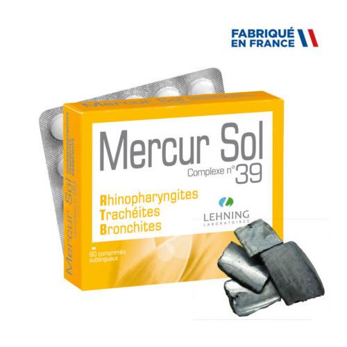 LEHNING MERCUR SOL COMPLEXE N°39 - 60 Comprimés