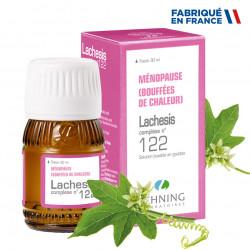 LEHNING LACHESIS COMPLEXE N°122 Ménopause - Gouttes 30ml
