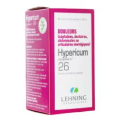 LEHNING HYPERICUM COMPLEXE N°26 - Gouttes 30ml