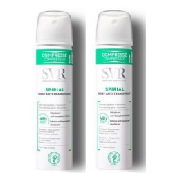 SVR SPIRIAL Spray Anti transpirant 2x75ml