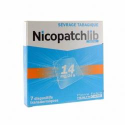 NICOPATCHLIB 14 mg/24 heures, dispositif transdermique, boîte
