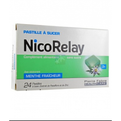 NICORELAY PAST A SUCER 24