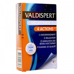 VALDISPERT MELATONINE 1MG 4...