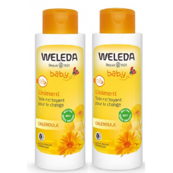 WELEDA BEBE Liniment - Lot de 2x400ml