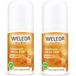 WELEDA ARGOUSIER Déodorant 24h - Lot de 2x50ml