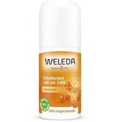 WELEDA ARGOUSIER Déodorant roll-on 24h - 50ml