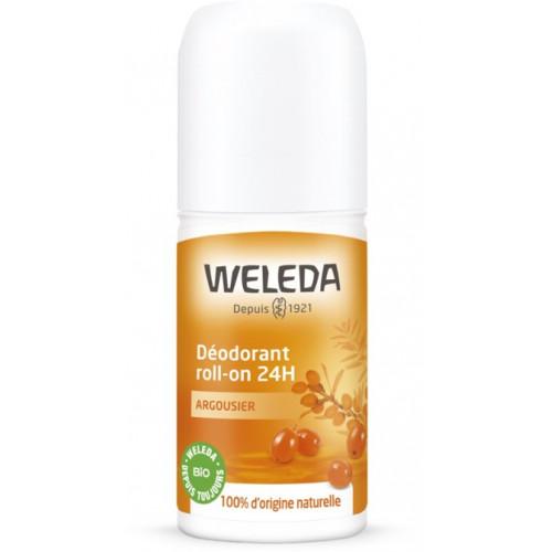 WELEDA ARGOUSIER Déodorant roll-on 24h - 50ml