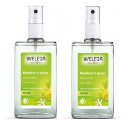 WELEDA CITRUS Déodorant Spray - Lot de 2x50ml