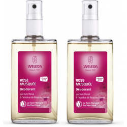WELEDA ROSE Déodorant Spray - Lot de 2x50ml