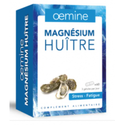 OEMINE MAGNESIUM HUITRE - 60 Gélules
