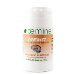 OEMINE MEMO - 60 Gélules
