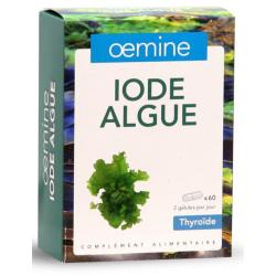 OEMINE IODE ALGUE - 60 Gélules