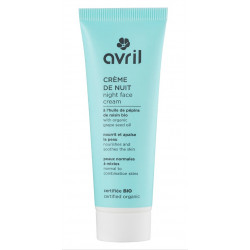 AVRIL CREME DE NUIT Bio Peau Normal à Mixte 50ml