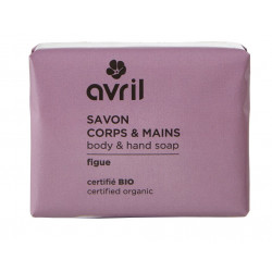AVRIL SAVON CORPS & MAINS Figue Bio 100G