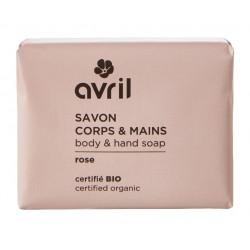 AVRIL SAVON CORPS & MAINS Rose Bio 100G