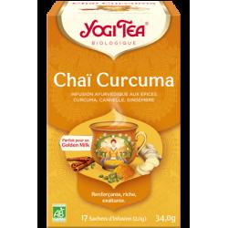 YOGI TEA Chaï Curcuma Bio - 17 sachets