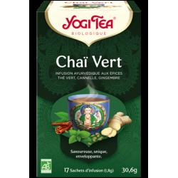 YOGI TEA Chaï Vert - 17 sachets
