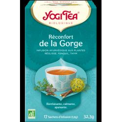YOGI TEA Réconfort de le Gorge - 17 sachets