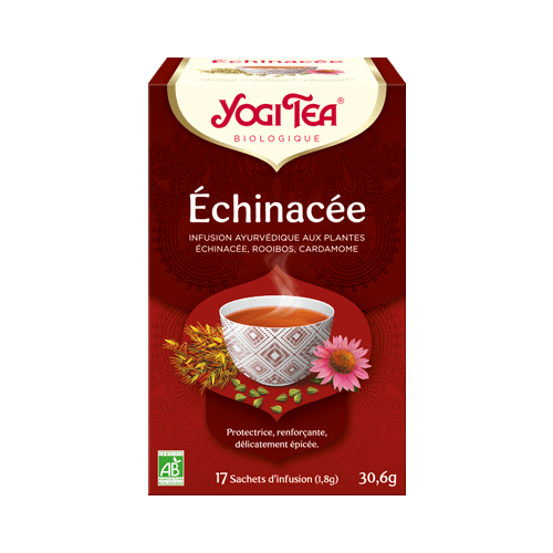 YOGI TEA Echinacée - 17 sachets