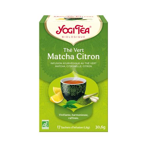 YOGI TEA Vert Matcha Citron Bio - 17 sachets