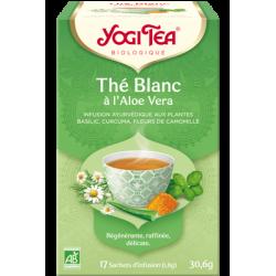 YOGI TEA Thé Blanc Aloe Vera - 17 sachets