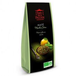 THES DE LA PAGODE Maté Menthe Citron 100 g