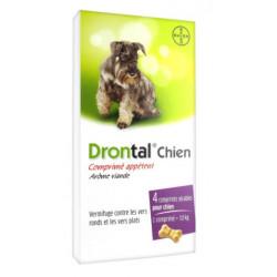 DRONTAL Chien - 4 Comprimés