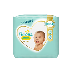 PAMPERS COUCHES PREMIUM PROTECTION Taille 4 (9 à 14kg) - 78