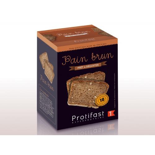 PROTIFAST Pain Brun 10 tranches de 50 g
