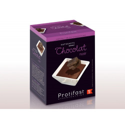 PROTIFAST Entremets Chocolat Noir 7 Sachets