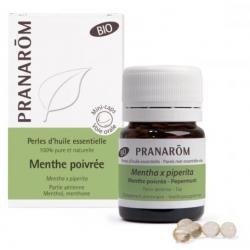 PRANAROM PERLES D'HUILE ESSENTIELLE Menthe Poivrée - 60 Perles