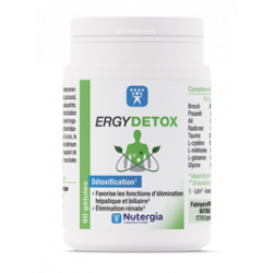 NUTERGIA Ergydetox - 60 gélules