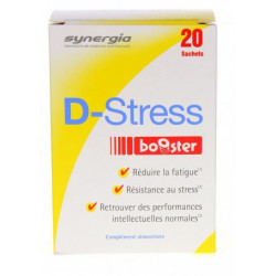 SYNERGIA D-STRESS BOOSTER - 20 Sticks