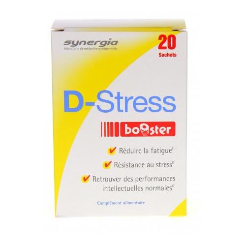 SYNERGIA D-STRESS BOOSTER - 20 Sticks