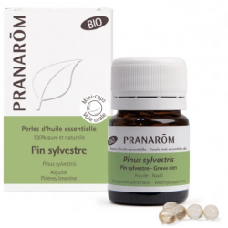 PRANAROM PERLES D'HUILE ESSENTIELLE Pin Sylvestre Bio - 60