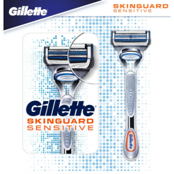 GILLETTE SKINGUARD Sensitive - 1 Rasoir + 1 Recharge