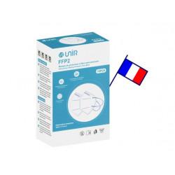 Masque FFP2 Blanc x10 Unités Fabrication Française