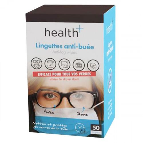 HEALTH LINGETTES ANTI-BUÉE - 50 Lingettes
