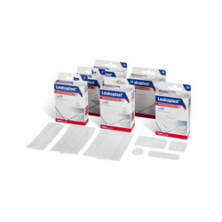 LEUKOPLAST SOFT WHITE COVERMED Pansements 10CMX4CM - 5 Unités