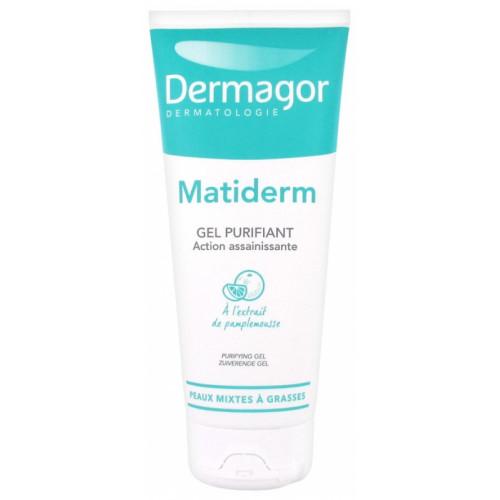 DERMAGOR MATIDERM GEL PURIFIANT TUBE - 200 ml