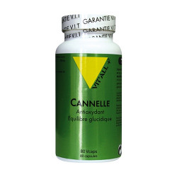 VIT ALL+ CANNELLE 500MG - 80 Capsules