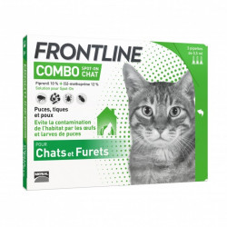 FRONTLINE COMBO CHAT - 3 Pipette de 0,5 ml