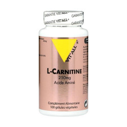 VIT ALL+ L CARNITINE 250MG - 100 Cpasules