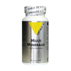 VIT ALL+ MULTIMINERAUX - 80 Comprimés