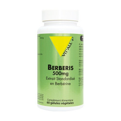 VIT ALL+ EXTRAIT BERBERINE - 60 Gélules
