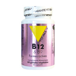 VIT ALL+ VITAMINE B12 B9 - 60 Comprimés