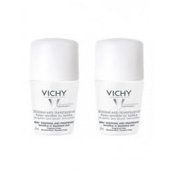 VICHY DÉODORANT PEAUX SENSIBLE x 2 - 50 ml